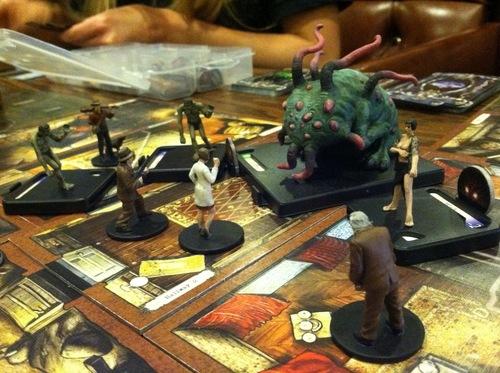 Mansiones de la Locura juego de mesa